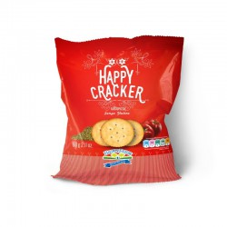 Happy crackers gusto pizza