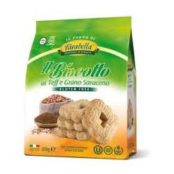 Il biscotto al teff e grano...