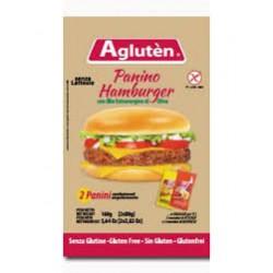 Panino hamburger con olio...