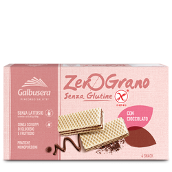 Zerograno wafer con cioccolato