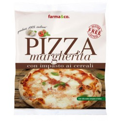Pizza margherita ai cereali