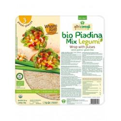 Bio piadina mix legumi