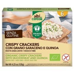 Crispy crackers con grano...
