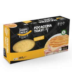 Focaccina toast