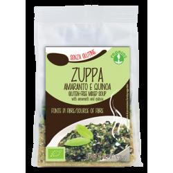 Zuppa amaranto e quinoa